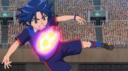 EP06 Orion - Ichihoshi siendo golpeado por La Explosión