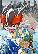 Poster de la segunda temporada por Tenya Yabuno