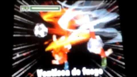 Inazuma Eleven 2 Ventisca de Fuego