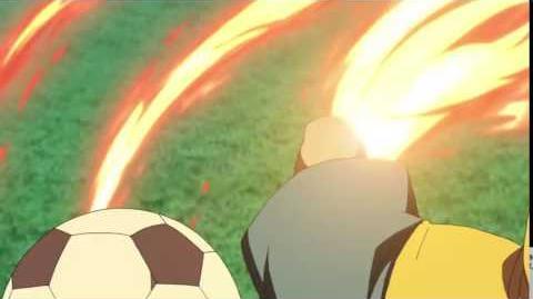 Inazuma Eleven Ares - Fire Tornado