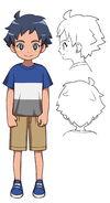 Hikaru (Artwork y concepto - niño)
