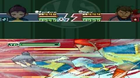 Inazuma Eleven 2 Firestorm Pandora - Triple Dash