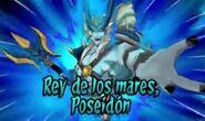 Rey de los mares Poseidón 3DS