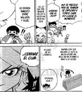 Enfrentamiento manga