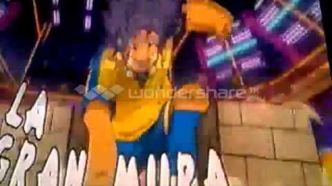 Inazuma Eleven GO Tiro Fantasma (Houdini) v La Gran Muralla