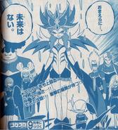 Beta en su modo Armadura (Manga)