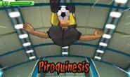 Piroquinesis 3DS 3