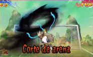 Corte de arena 3DS 6