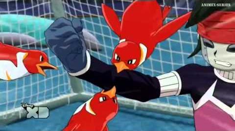 Inazuma Eleven GO Chrono Stone Mano de Pingüinos