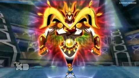 Inazuma Eleven GO CS Apolo Dios del Sol Armadura-0