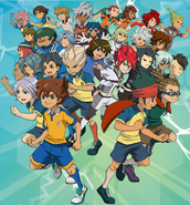 Inazuma Eleven Strikers jugadores