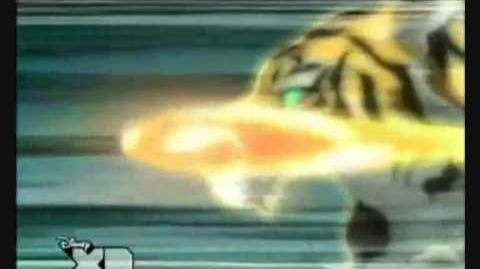 Inazuma eleven Remate del Tigre