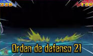 Orden de defensa 21 3