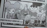 Protocolo Omega 2.0 en el Manga