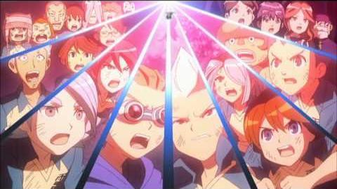 Inazuma Eleven La Película Death Spear VS Shinkuuma (デススピアー VS 真空魔)