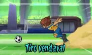 Tiro vendaval 3DS 2