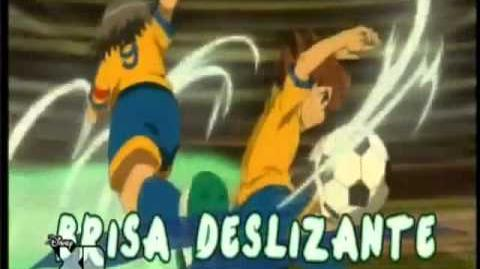 Inazuma Eleven GO Brisa Deslizante