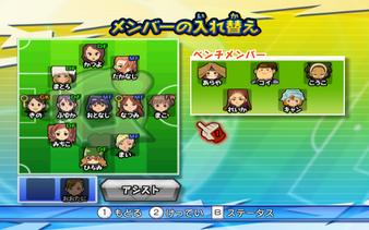 Inazuma Girls Alineación