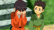 Katsu triste por la despedida de Riccardo