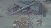 Caseta destruida