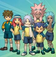Artwork de los miembros del Raimon en la segunda temporada