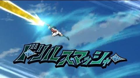 【アレスの天秤】シャイニングバード VS ドリルスマッシャー【イナイレ】