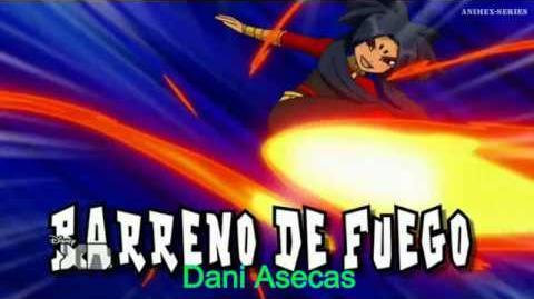 Inazuma Eleven GO Chrono Stone Barreno de Fuego