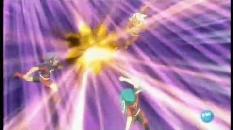 Inazuma eleven Remate de Gaia