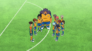 Raimon thinking about Minamisawa