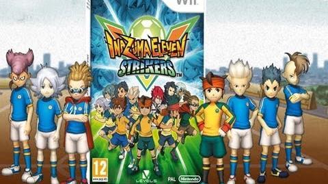 Spot lanzamiento Inazuma Eleven Strikers Wii