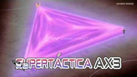Inazuma Eleven GO Chrono Stone Supertáctica AX3