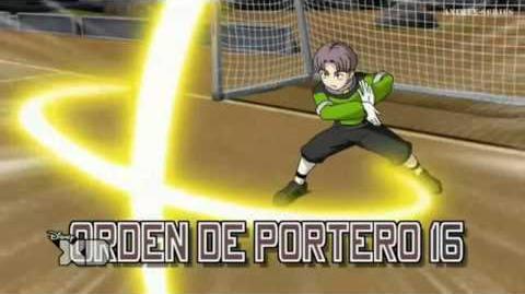 Inazuma Eleven GO Chrono Stone Orden de Portero 16