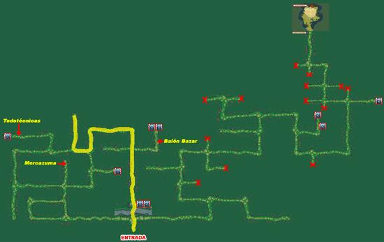 Mapa Bosque Fuji (Fichaje Ruta 8)