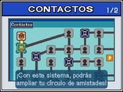 Mapa de Contactos