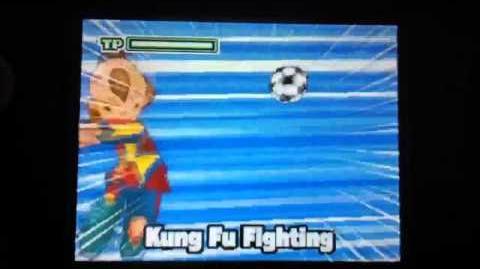 Inazuma eleven 2 blizzard Kung Fu Attack