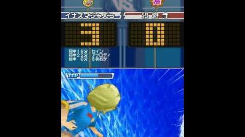 Inazuma eleven 3 spark The tube