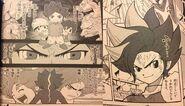 Falco Oscuro en el manga