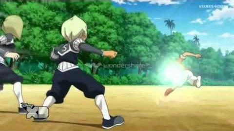 Inazuma Eleven GO Chrono Stone Ritmo Agresivo