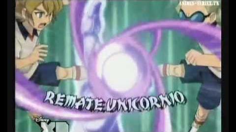 Inazuma eleven remate unicornio
