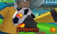 Piroquinesis 3DS 4