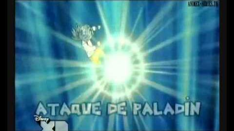 Inazuma eleven ataque de paladin