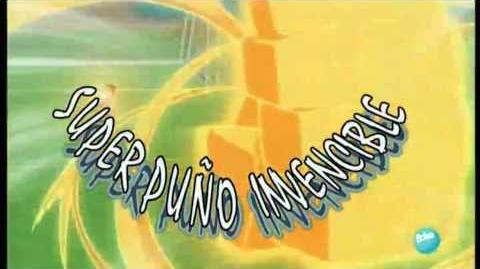 INAZUMA ELEVEN SUPER PUÑO INVENCIBLE