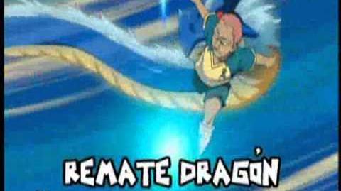 Inazuma Eleven - Kevin Remate dragón