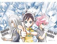 Poster del Manga de Inazuma Eleven Ares