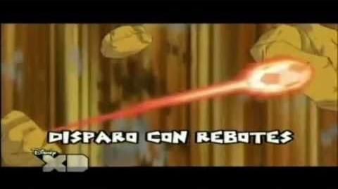 Inazuma eleven Disparo con Rebotes