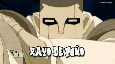 Inazuma Eleven GO Chrono Stone Rayo de Puño