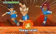 Fuego total 3DS