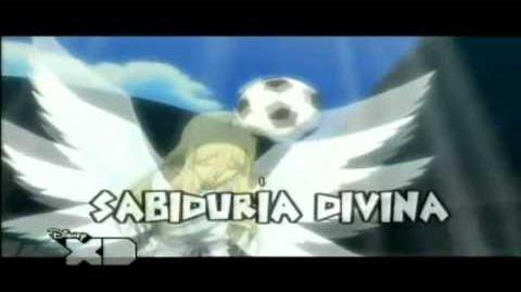 Inazuma eleven sabiduria divina