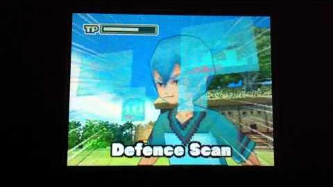 Inazuma eleven Nds Defence Scan