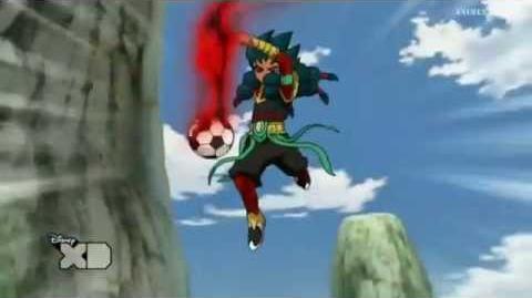 Inazuma Eleven GO Chrono Stone Golpe Cataclismo
